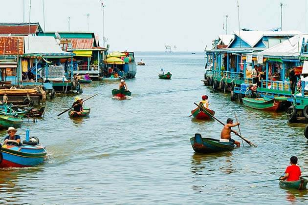 Tonle Sap Lake, Cambodia Thailand tour packages