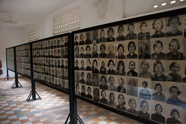 the Tuol Sleng Genocide Museum, Cambodia trips