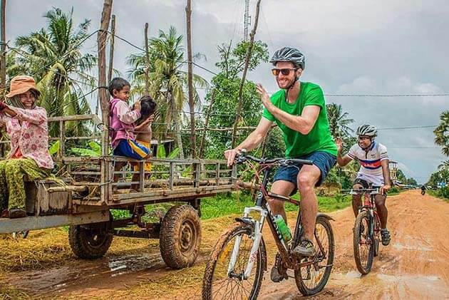 Cycling in Siem Reap, Cambodia Adventure Tours
