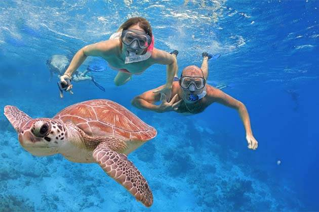 Diving under the sea in Sihanoukville, adventure packages in Cambodia