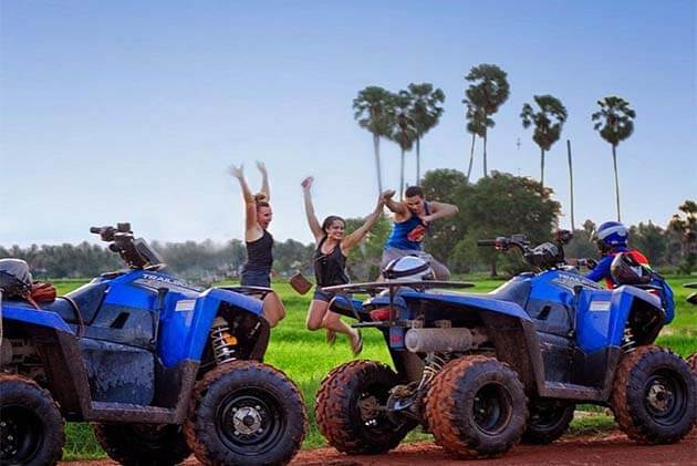 Siem Reap Quad Bike, Cambodia Adventure tour packages