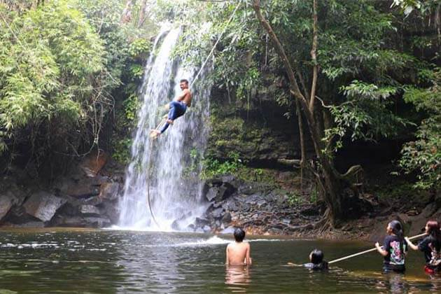 Visit Waterfalls in Cambodia, adventure package in Cambodia
