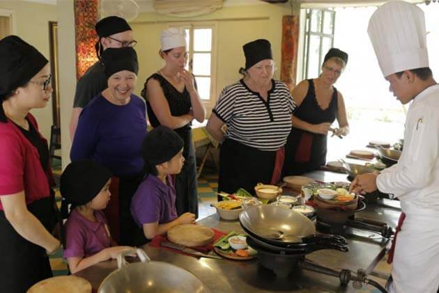 Cambodia cooking class with kids, Cambodia Family packages