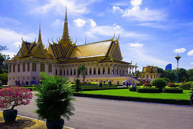 Royal Palace in Cambodia, Cambodia Itinerary one week
