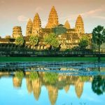 Sunset in Angkor Wat, Cambodia Tour Packages