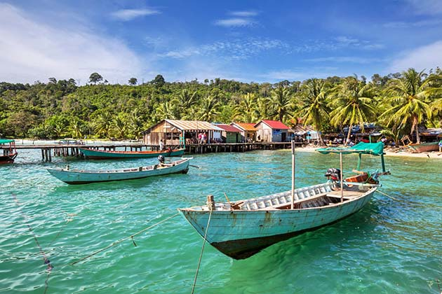 beautiful beach in Sihanoukville, Cambodia Itineary