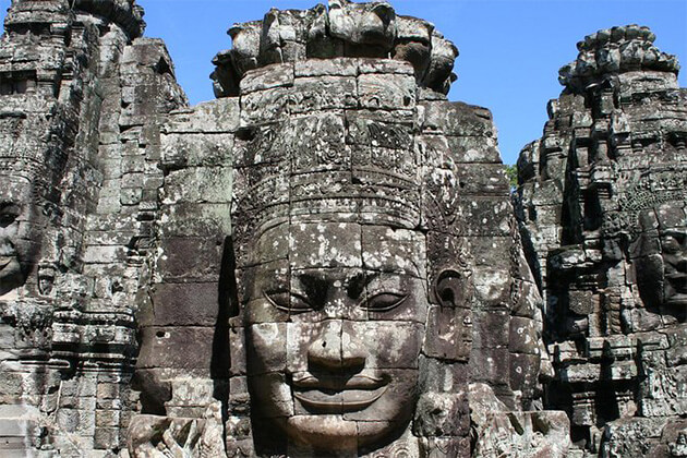 Angkor Wat popular place in Cambodia