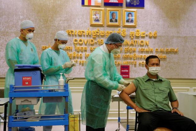 Cambodia Begins Vaccination Campaign against COVID-19